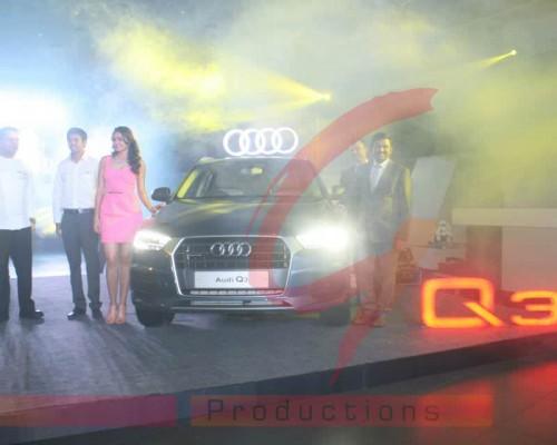 Audi Q3 Launch