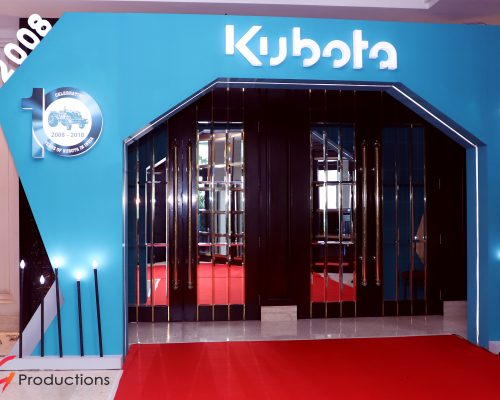 KUBOTA 10 year Celebration